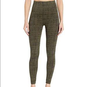 Spanx olive crosshatch leggings